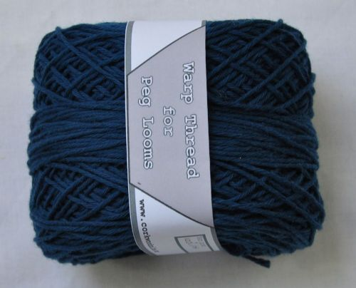 100g Cotton warp thread Teal green
